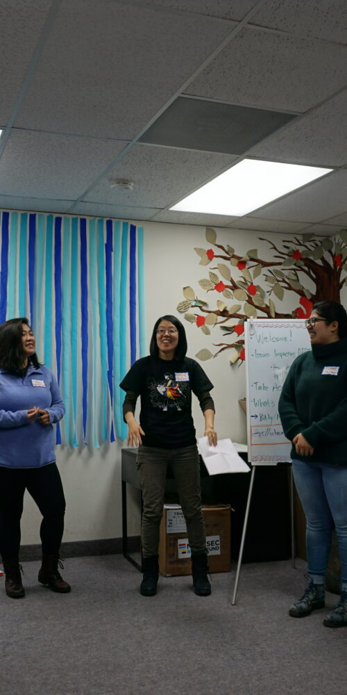 NAKASEC VA staff standing in a circle