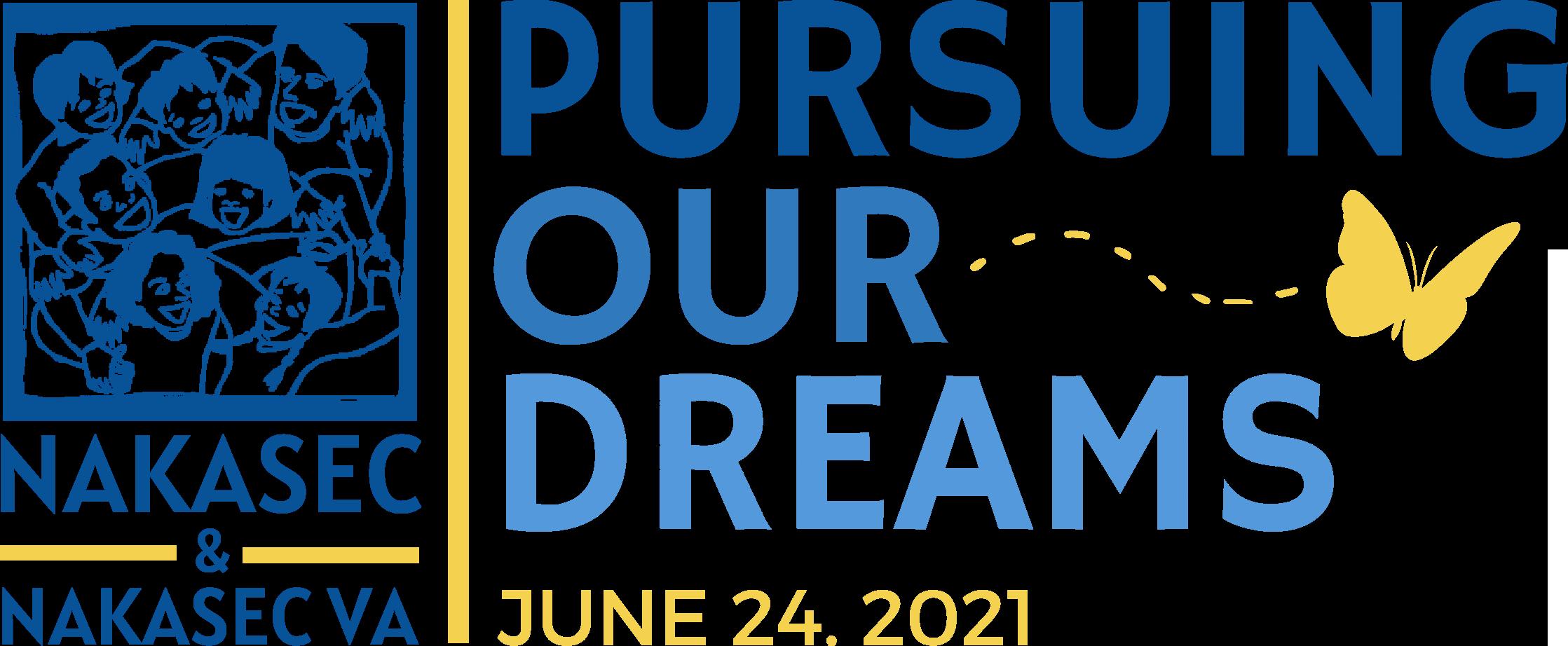 NAKASEC & NAKASEC VA - Pursuing Our Dreams Fundraiser (June 24, 2021)