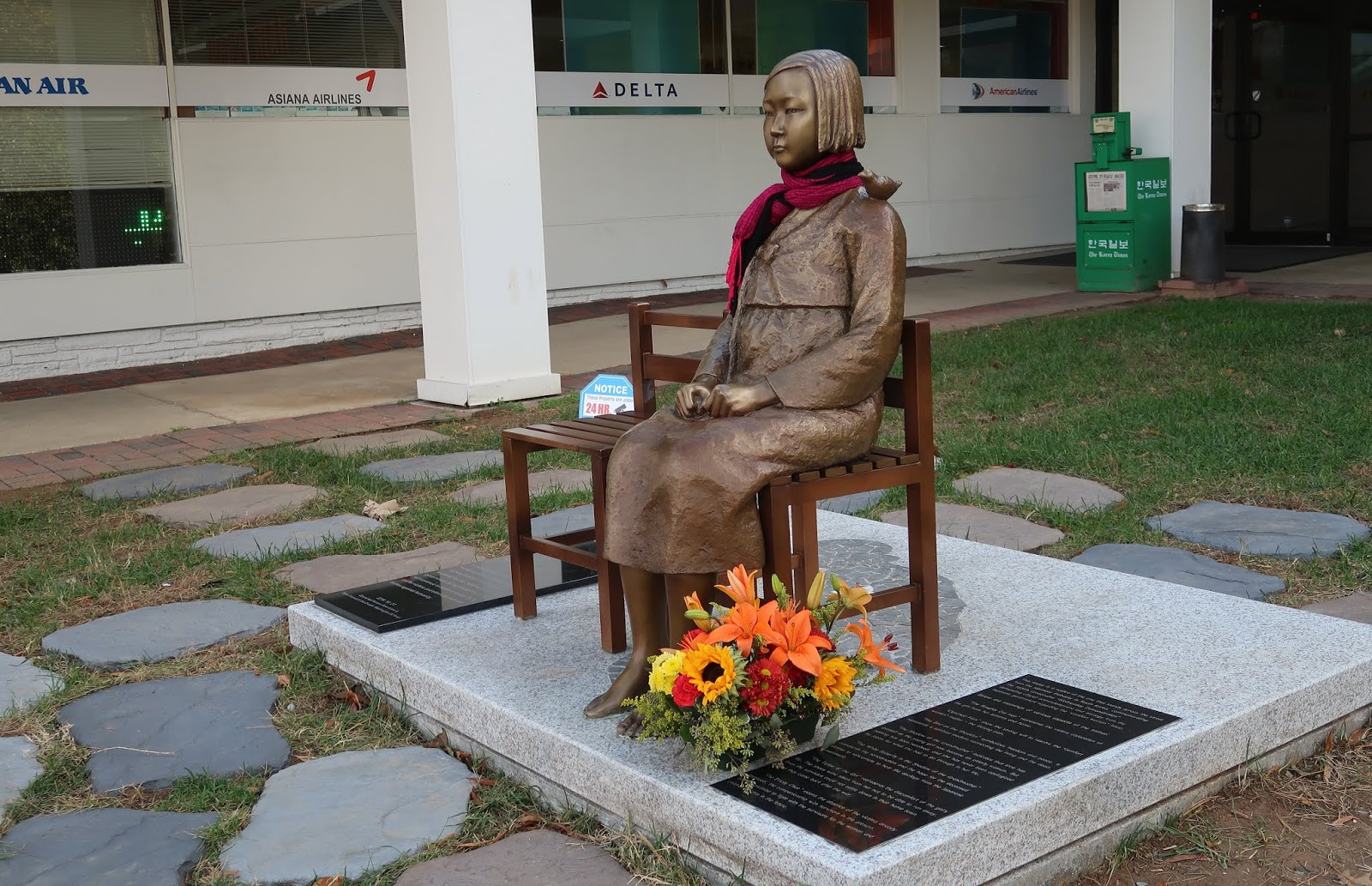Statue of Peace in Annandale, VA