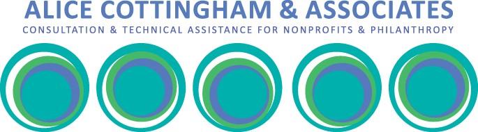 Alice Cottingham & Associates: Consultation & Technical Assistance for Nonprofits & Philanthropy logo